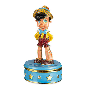 Disney Parks Pinocchio Trinket Box by Arribas Brothers New with Box