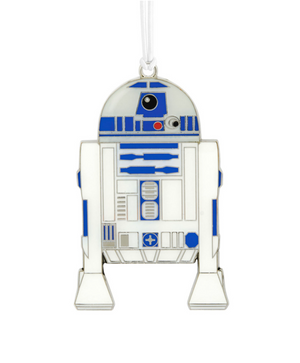 Hallmark Star Wars R2-D2 Metal Ornament New with Card
