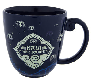 Disney Pandora the World of Avatar Na'vi River Journey Ceramic Coffee Mug New