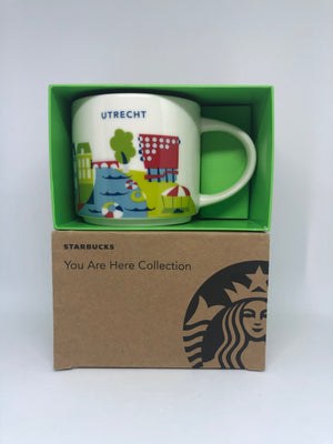 Starbucks You Are Here Utrecht Netherlands Ceramic Coffee Mug New with Box