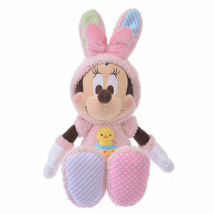 Disney Store Japan Easter Bunny Minnie Plush New with Tags