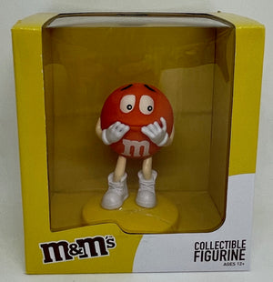 M&M's World Orange Collectible Figurine New With Box