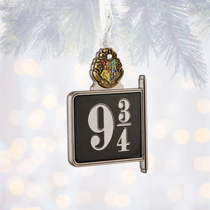 Universal Studios Harry Potter Platform 9 3/4 Metal Ornament New with Tags
