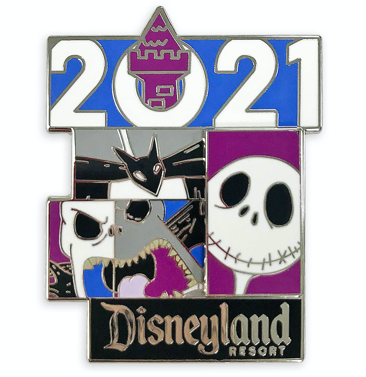 2021 Nightmare Before Christmas Trading Pin Disney Parks Disneyland 2021 The Nightmare Before Christmas Jack Pin N I Love Characters