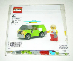 Lego 6313092 Surfer Van New with Sealed Bag