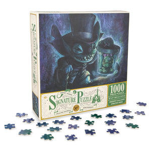 Disney Parks Signature Puzzle 30th Stitch Hatbox Ghost Haunted Mansion 1000 pcs