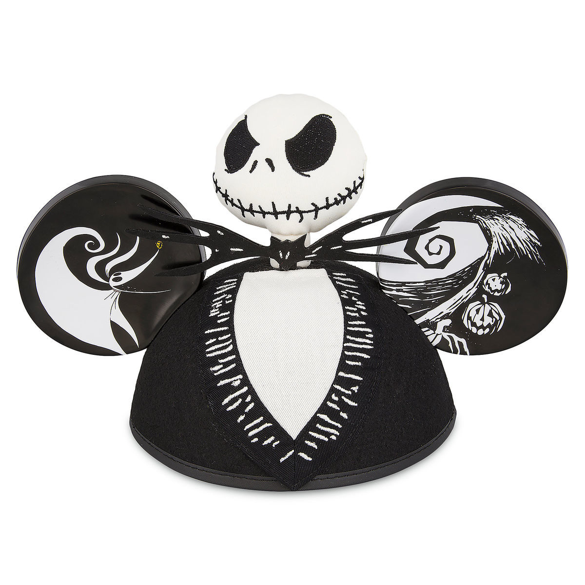 Disney Jack Skellington The Nightmare Before Christmas Ear Hat New ...