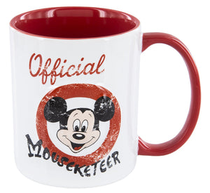 Disney Parks Official Mouseketeer Mickey Club Ceramic Coffee Mug New