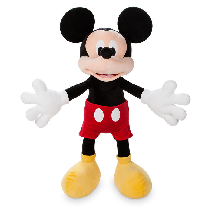 "Disney Store Mickey Mouse Plush Jumbo 47"" H New with Tag"