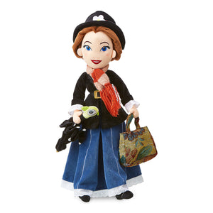 Disney Mary Poppins Medium Doll with Umbrella Plush New with Tags