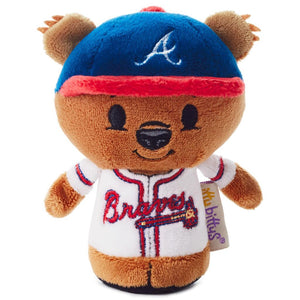 Hallmark MLB Atlanta Braves Mascot Special Edition Itty Bittys Plush New w Tag