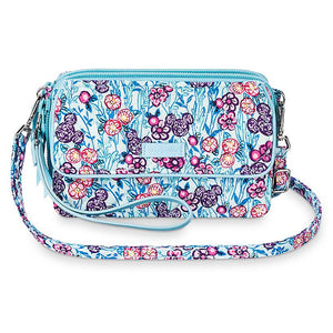 Disney Mickey Mouse Colorful Garden All in One Crossbody Wristlet Vera Bradley