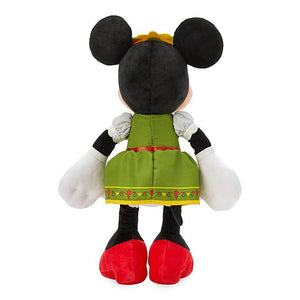 Disney Parks Epcot Germany Bavarian Minnie Mouse Plush New with Tag