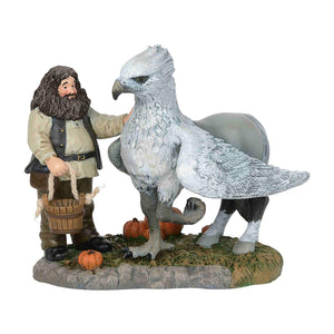 Department 56 Harry Potter Village A Proud Hippogriff Indeed Figurine New w Box
