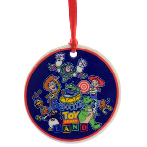 Disney Parks Toy Story Land Opening Day Passholder Dish Resin Ornament New w Tag