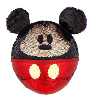 Disney Parks Mickey Reversible Sequined Plush New with Tag