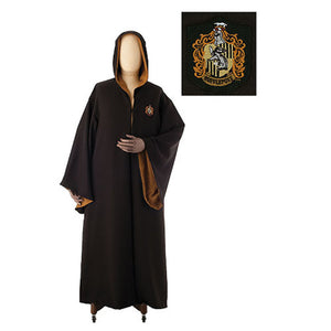 Universal Studios Wizarding World Harry Potter Hufflepuff Robe New M with Tags