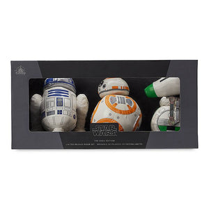 Disney Star Wars: The Saga Edition Droid Plush Set Limited Release New with Box