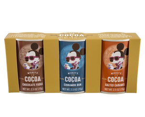 Disney Parks Cocoa Mickey's Really Swell Sampler Pack Set Of Three New