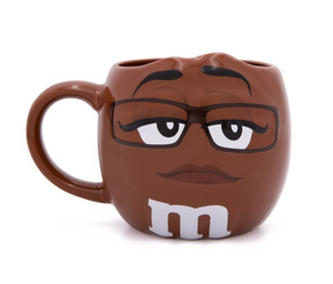 M&M's World Brown Character Figural Coffee Mug New