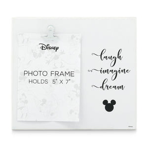 Disney Mickey Mouse Laugh Imagine Dream Photo Frame 5'' x 7'' New with Box