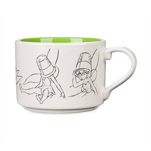 Disney Animation Sketch Poses Tinker Bell Ceramic Coffee Mug New
