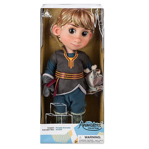 Disney 2020 Animators' Collection Frozen Kristoff with Sven Doll New with Box