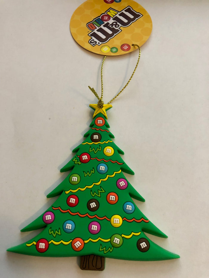 M&M's World Christmas Tree Christmas Ornament New with Tag