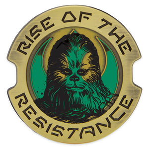 Disney Parks Chewbacca Star Wars Rise the Resistance Limited Pin New with Card
