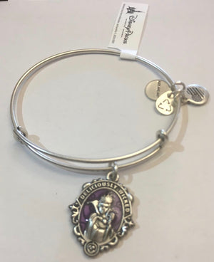 Disney Alex and Ani Villains Evil Queen Bracelet Silver Finish Halloween New