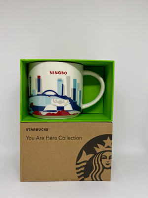 Starbucks You Are Here Collection Ningbo China Ceramic Coffee Mug New With Box