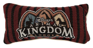 disney parks animal kingdom lodge red pillow new with tag