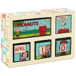 Hallmark Peanuts Happiness Is Perpetual Calendar New