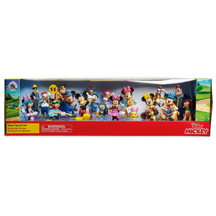 Disney Mickey Mouse and Friends Mega Figurine Set Cake Topper New with Box