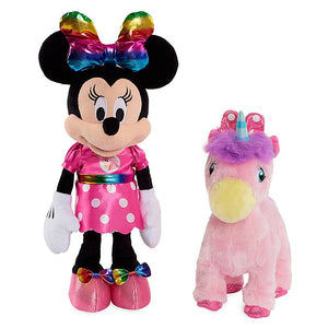 Disney Junior Minnie Mouse and Walk-and-Dance Unicorn Doll Set New with Box
