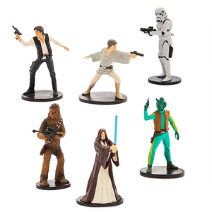 Disney Store Star Wars Cantina Figure Play Set Playset Cake Topper New