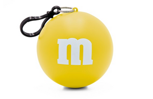 M&M's Yellow Character Rain Poncho Ball One Size New with Tags