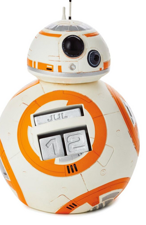 Hallmark Star Wars BB-8 Perpetual Calendar New