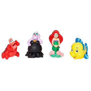 Disney Store The Little Mermaid and Friends Bath Set New with Case