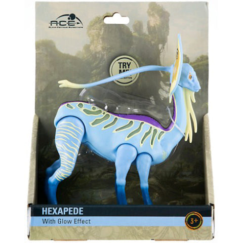 Disney Animal Kingdom Pandora Avatar Hexapede with Glow Effect Action Figure New