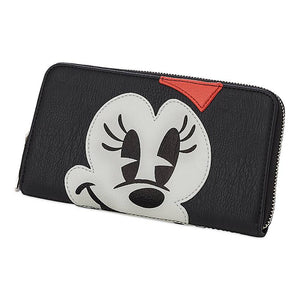 Disney Parks Mickey and Minnie Mouse Large Clutch Wallet New with Tag