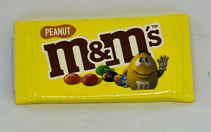 M&M's World Peanuts Candy Bag Magnet New with Tag