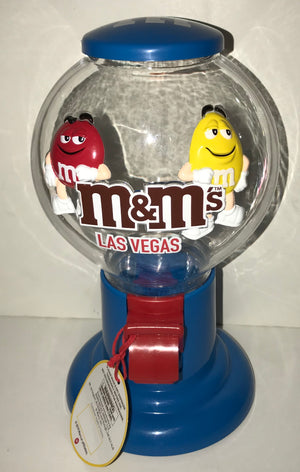 M&M's World Gumball Candy Dispenser Las Vegas New with Tags