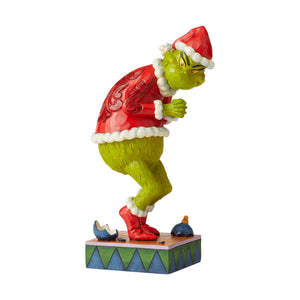 Jim Shore Sneaky Grinch Christmas Figurine New with Box