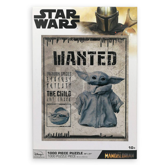 Disney The Child 1000pcs Puzzle Star Wars The Mandalorian Yoda New with Box