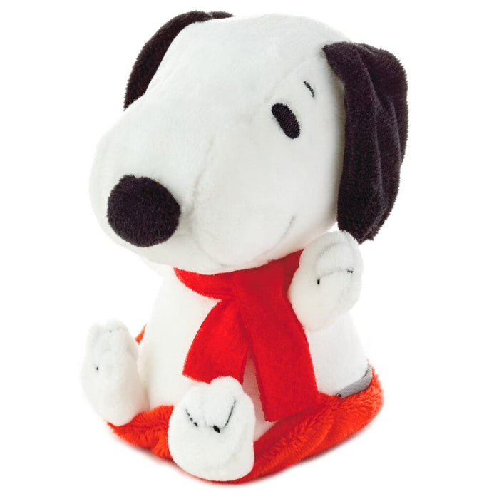 Hallmark Peanuts Zip-N-Go Christmas Snoopy on Sled Plush New with Tag