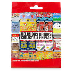 Disney Parks Disney Parks Delicious Drinks Mystery Pin Set New