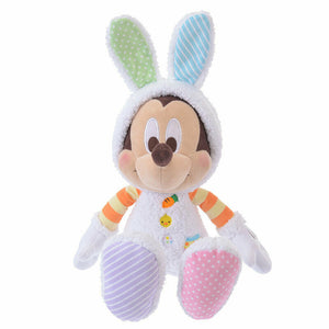 Disney Store Japan Easter Bunny Mickey Plush New with Tags