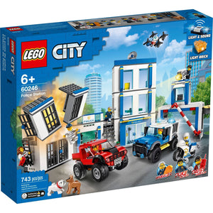Lego 60246 City Police Station Fun Building Set New with Sealed Box