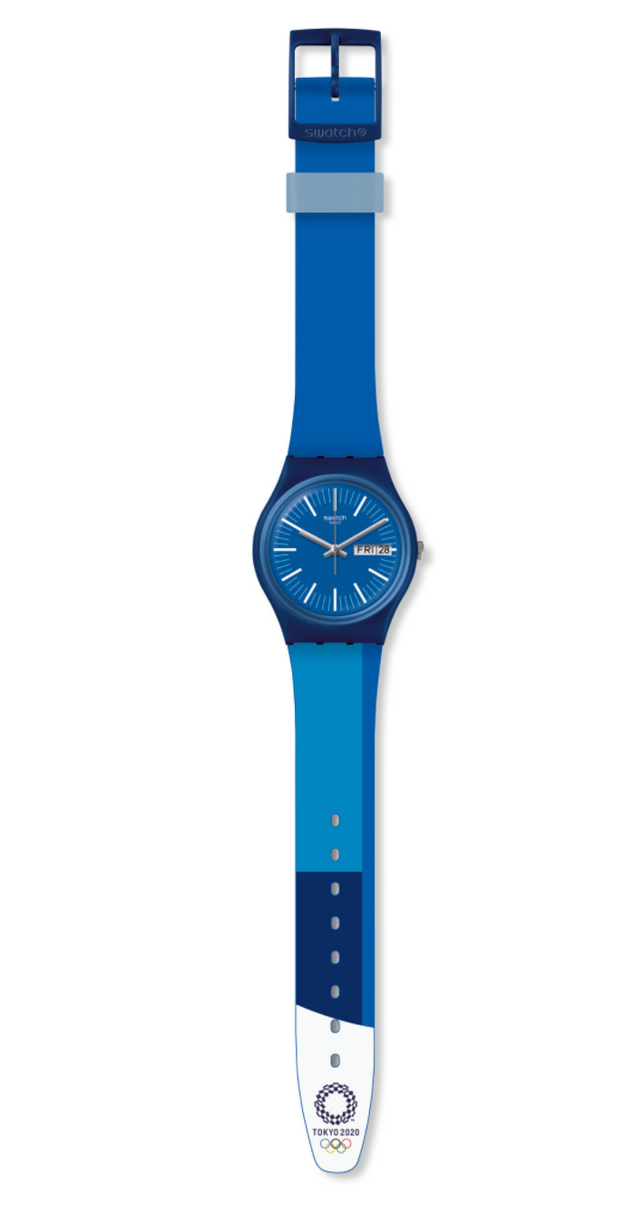 Swatch Olympic Game Tokyo 2020 Blue Watch New with Box
